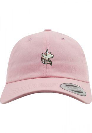 Flexfit Unicorn Dad Mädchen Cap in pink – Bild 1