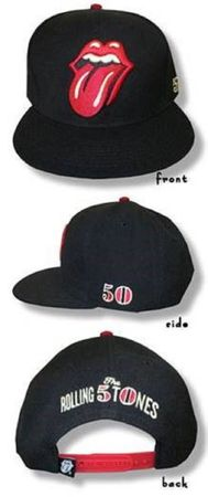 The Rolling Stones 50th Years Trucker Snapback Cap