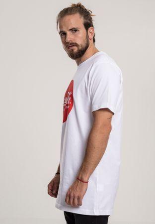 Coca Cola Round Logo T-Shirt in weiß von XS-3XL – Bild 4