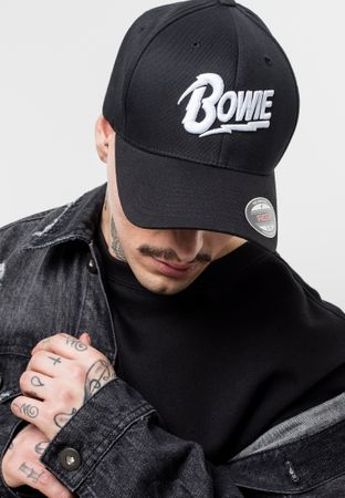 David Bowie Flexfit Cap in S/M & L/XL – Bild 1