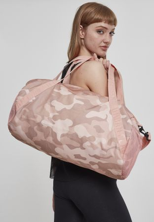 Urban Classics Basic Sporttasche in rose-camo – Bild 1