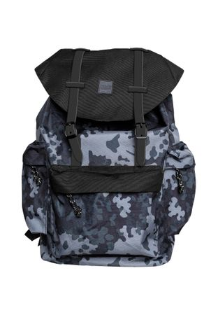 Urban Classics Rucksack Camo Backpack With Multibags – Bild 3