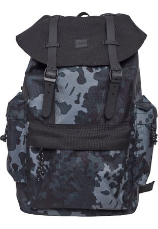 Urban Classics Rucksack Camo Backpack With Multibags – Bild 2