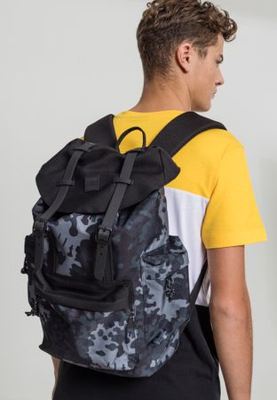 Urban Classics Rucksack Camo Backpack With Multibags – Bild 1