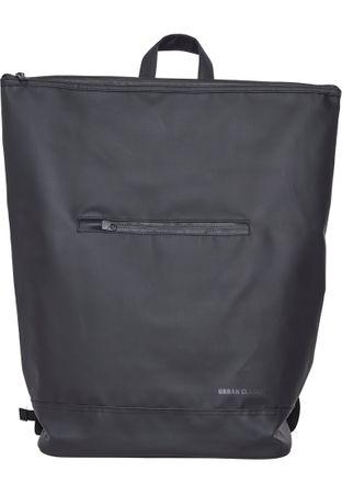 Urban Classics Messenger Coated Rucksack in schwarz – Bild 2