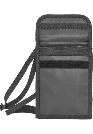 Urban Classics Neck Pouch Coated Crossbag in schwarz – Bild 7