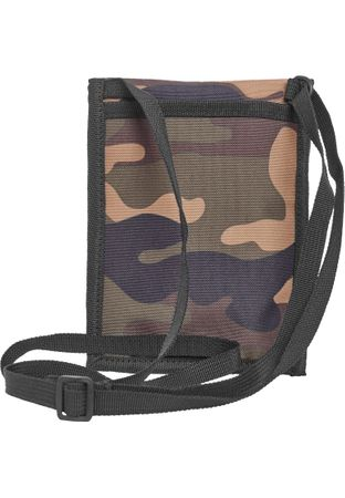 Urban Classics Neck Pouch Oxford Brustbeutel / Crossbag in woodcamo – Bild 2