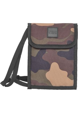 Urban Classics Neck Pouch Oxford Brustbeutel / Crossbag in woodcamo – Bild 1