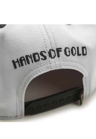 Hands Of Gold Snapback Oldschool Cap – Bild 8