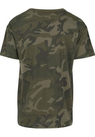 Hustler Logo Camo Fashion Hipster Tee in wood von S-2XL – Bild 2