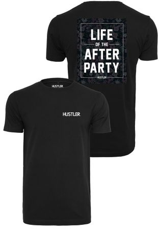 Hustler Afterparty Fashion Hipster Tee in schwarz von XS-3XL – Bild 1