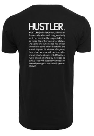 Hustler Definition Fashion Hipster Tee in schwarz von XS-3XL – Bild 3