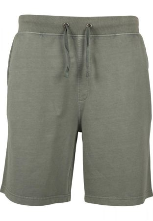 Urban Classics Acid Wash Shorts in olive von S-5XL – Bild 8