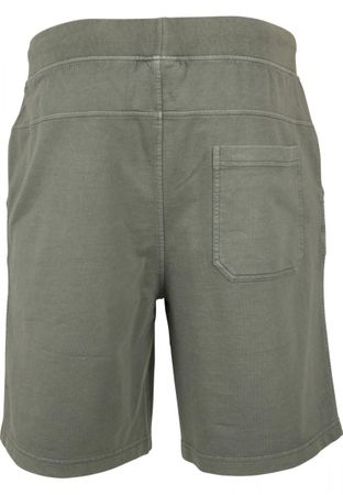Urban Classics Acid Wash Shorts in olive von S-5XL – Bild 7