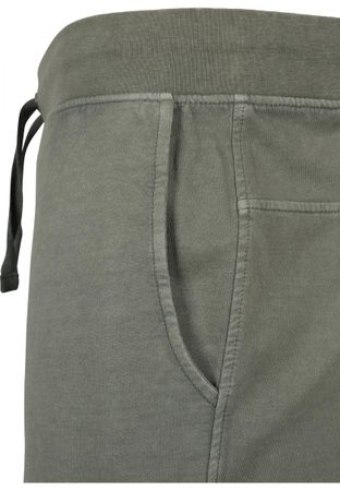 Urban Classics Acid Wash Shorts in olive von S-5XL – Bild 3