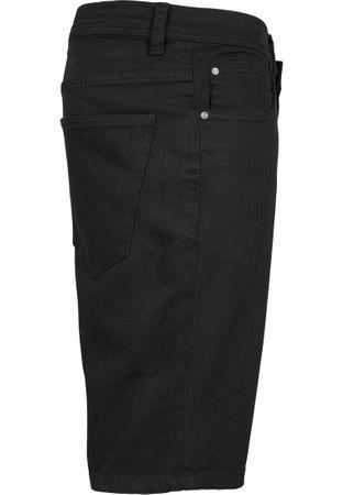 Urban Classics Stretch Twill Shorts in schwarz von W30-W38 – Bild 4