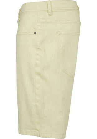 Urban Classics Stretch Twill Shorts in gelb von W30-W38 – Bild 5