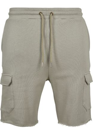 Urban Classics Open Edge Terry Cargo Shorts in pastelolive von S-2XL – Bild 2