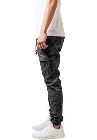 Urban Classics Camo Cargo Jogging Pants in grau-camo von Weite 30-38 – Bild 3