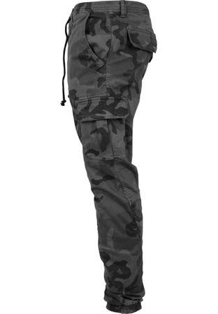 Urban Classics Camo Cargo Jogging Pants in grau-camo von Weite 30-38 – Bild 6