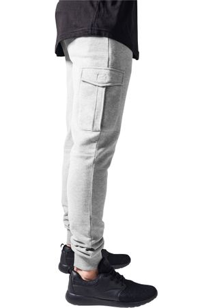 Urban Classics Fitted Cargo Sweatpants in grau von S-2XL – Bild 3