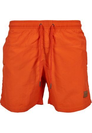 Urban Classics Block Swim Shorts in orange von S-5XL – Bild 2
