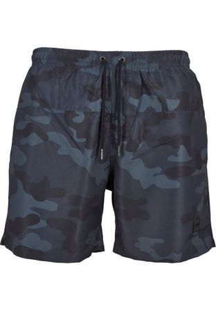 Urban Classics Camo Swim Shorts in darkcamo von S-5XL – Bild 2