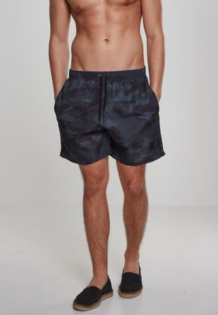 Urban Classics Camo Swim Shorts in darkcamo von S-5XL – Bild 1