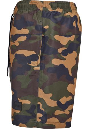 Urban Classics Camo Swim Shorts in woodcamo von S-5XL – Bild 5