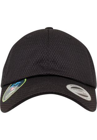 Flexfit Honeycomb Dad Cap in schwarz – Bild 6