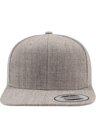 Flexfit / Yupoong Classic Snapback Cap in grau-grau – Bild 2