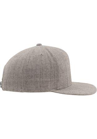 Flexfit / Yupoong Classic Snapback Cap in grau-grau – Bild 3