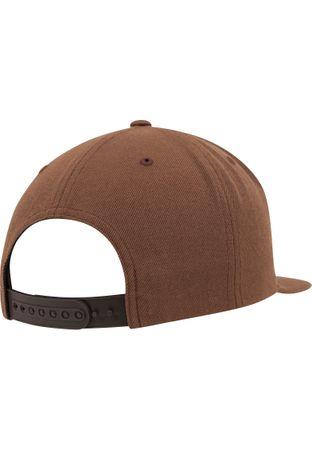 Flexfit / Yupoong Classic Snapback Cap in tan – Bild 6