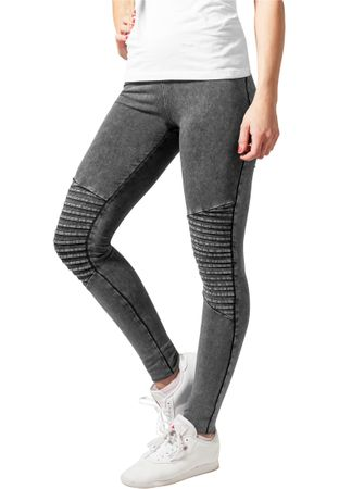 Urban Classics Ladies Denim Jersey Leggings in dunkelgrau von XS-5XL – Bild 1