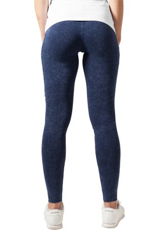 Urban Classics Ladies Denim Jersey Leggings in Indigo von XS-5XL – Bild 2