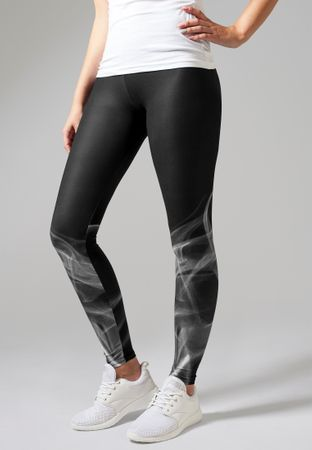 Urban Classics Ladies Smoke Leggings in schwarz von XS-XL – Bild 1