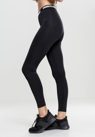 Urban Classics Ladies Sports Leggings in schwarz von XS-XL – Bild 4