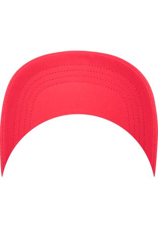 Flexfit / Yupoong Curved Visor Cap in rot – Bild 7