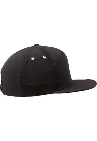 Flexfit / Yupoong Water Repellant Snapback Cap in schwarz – Bild 4
