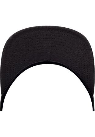 Flexfit / Yupoong Water Repellant Snapback Cap in schwarz – Bild 8