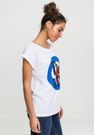 Ladies The Who Classic Target Tee in weiß von XS-XL – Bild 3