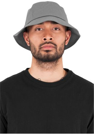 Flexfit Cotton Twill Bucket Hat / Mütze in 6 Farben – Bild 4