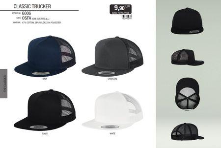 Flexfit / Yupoong Classic Trucker Snapback Cap in 4 Farben – Bild 1