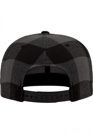 Flexfit Checked Flanell Snapback Cap in 3 Farben – Bild 4