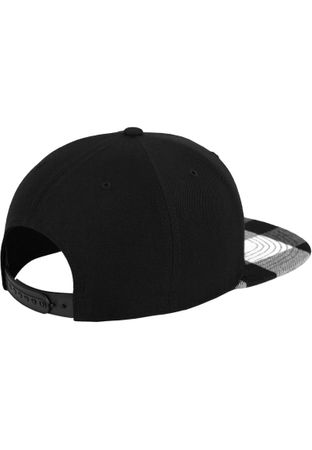 Flexfit Checked Flanell Peak Snapback Cap in 3 Styles – Bild 7
