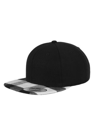 Flexfit Checked Flanell Peak Snapback Cap in 3 Styles – Bild 6