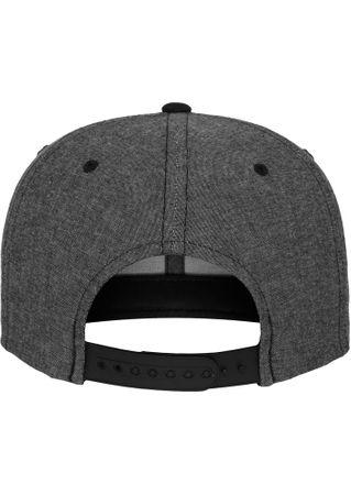 Flexfit Chambray-Suede Snapback Baseball Cap in 2 Styles – Bild 6