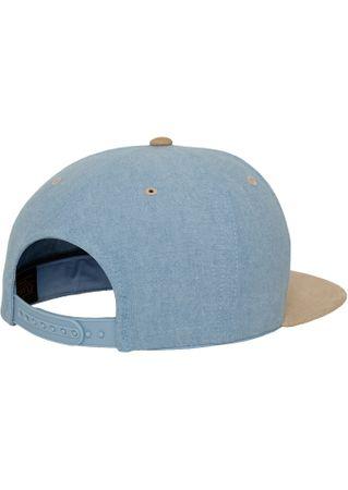 Flexfit Chambray-Suede Snapback Baseball Cap in 2 Styles – Bild 11