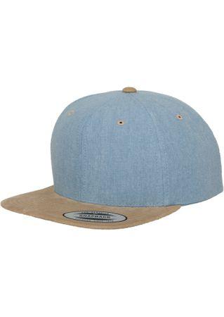 Flexfit Chambray-Suede Snapback Baseball Cap in 2 Styles – Bild 7