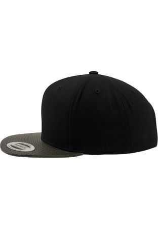 Flexfit Perforated Visor Snapback Cap in 2 Farben – Bild 10